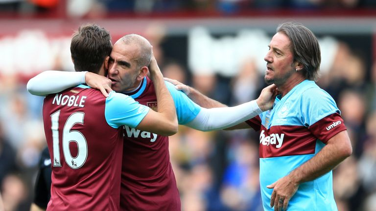 Di Canio was speaking after playing in Mark Noble's testimonial on Easter Monday