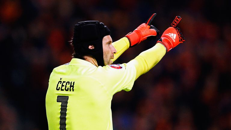 Arsenal's Petr Cech is one of 23 Czech Republic players selected for Euro 2016