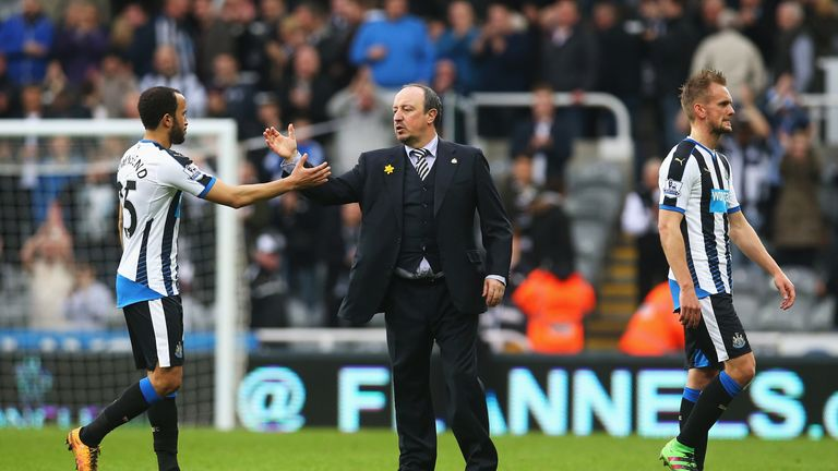 Rafa Benitez is still searching for his first win as Newcastle boss