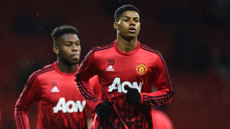 What roles will Marcus Rashford (right) and Timothy Fosu-Mensah play in the new season?