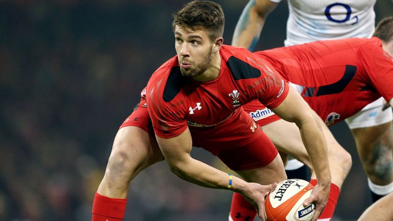 Rhys Webb will start at No 9 for Wales