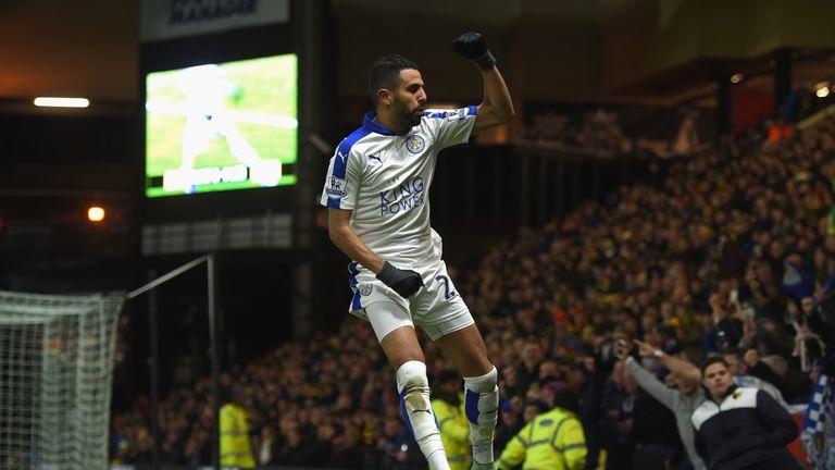 Mahrez scored a hugely important goal at Watford