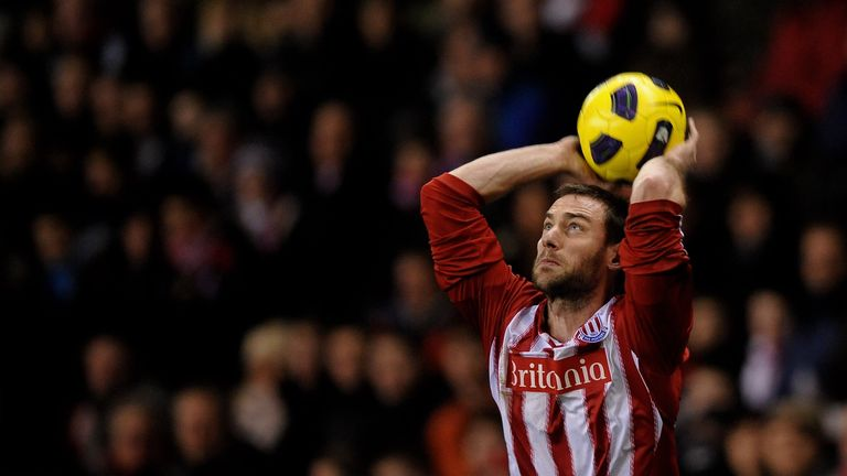 Rory Delap was famed for his long throw-ins during his time with Stoke