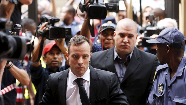Oscar Pistorius will be in court for sentencing in June