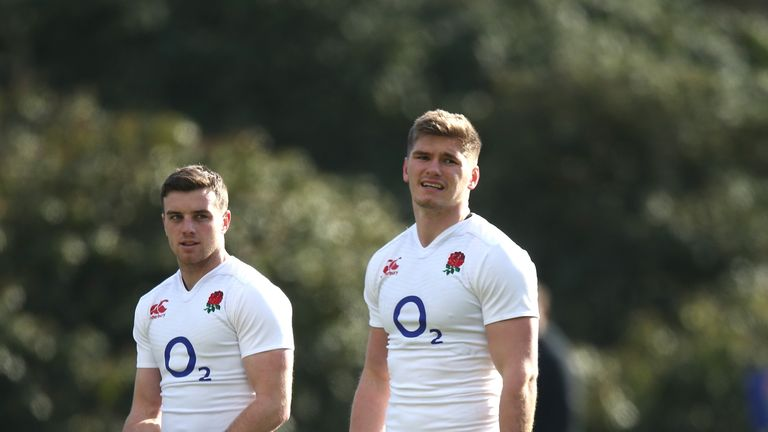 Owen Farrell and George Ford have formed a good partnership