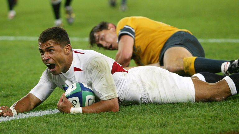 Rugby World Cup winner Jason Robinson received Lifetime Achievement award