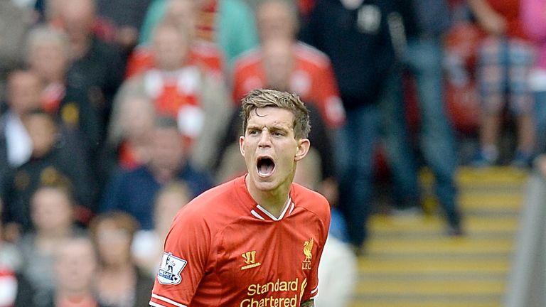 Agger made 232 appearances for Liverpool