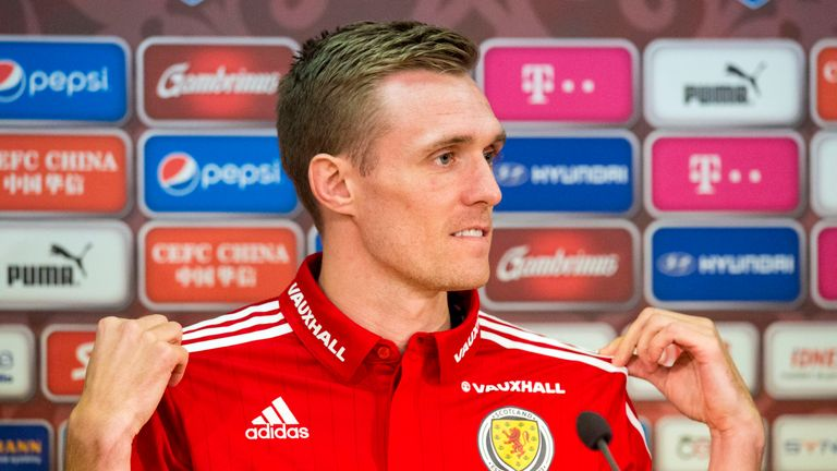 Darren Fletcher is expected to captain Scotland in their friendly against the Czech Republic on Thursday