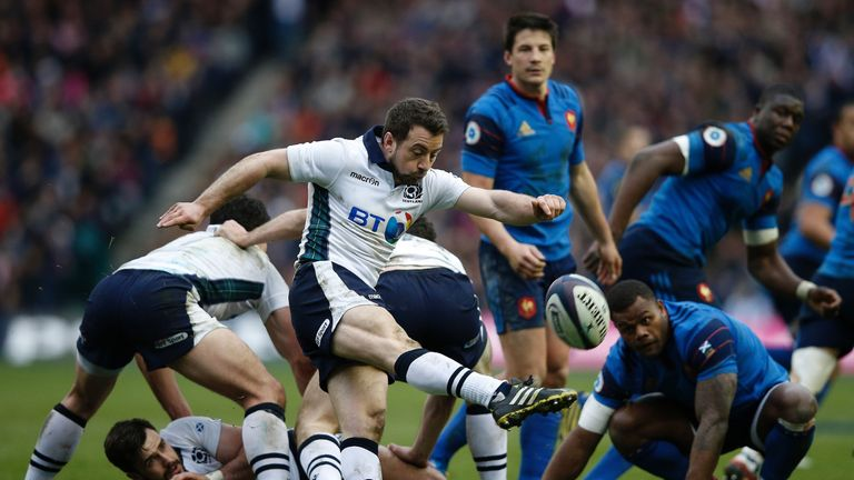 Greig Laidlaw won his 50th cap for Scotland in the victory, 25 of those have been as captain
