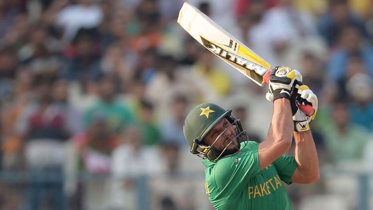 Shahid Afridi is to captain the World XI after Eoin Morgan misses out to injury