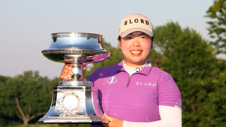 Shanshan Feng won China's only major when she won LPGA Championship at Locust Hill Country Club in 2012