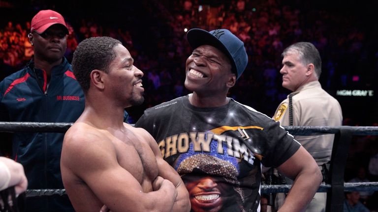 Shawn Porter and his father and trainer, Ken Porter, might be looking elsewhere