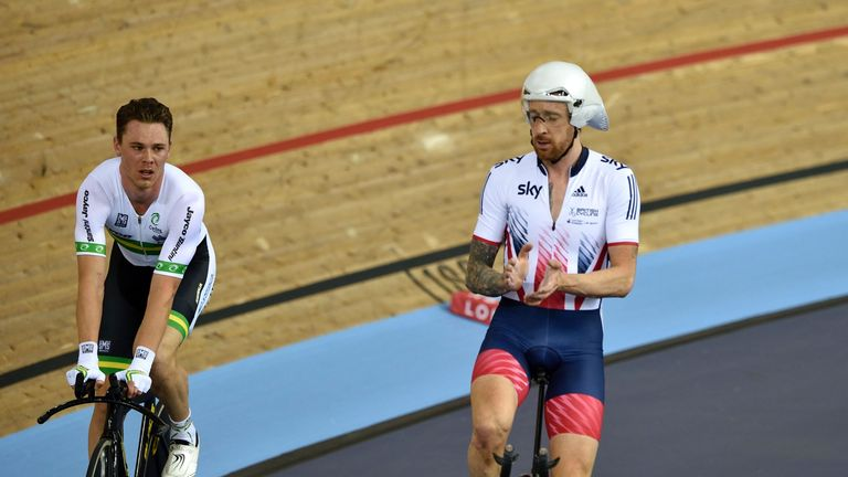 Wiggins and the British team were beaten by Australia at March's World Championships