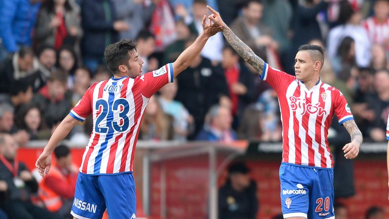 Sporting Gijon picked up a point at Levante