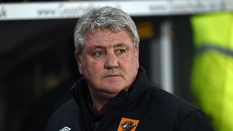 Steve Bruce suffered a third straight FA Cup exit at the hands of Arsenal