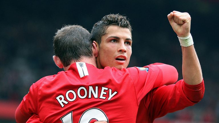 Ronaldo's first-ever Champions League goal came 12 years ago for Manchester United against Debrecen