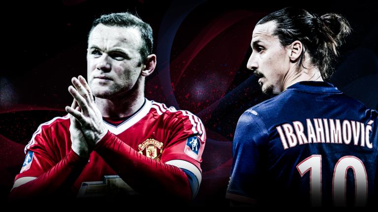 Can Wayne Rooney and Zlatan Ibrahimovic form an effective partnership?