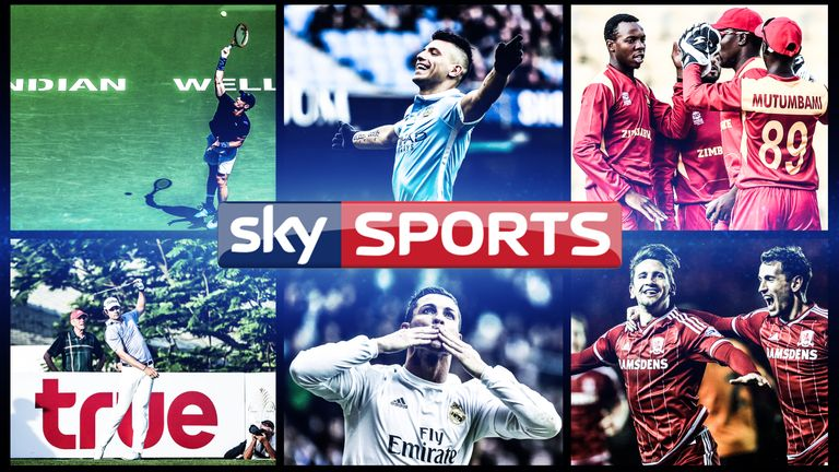 What's on Sky Sports this weekend?