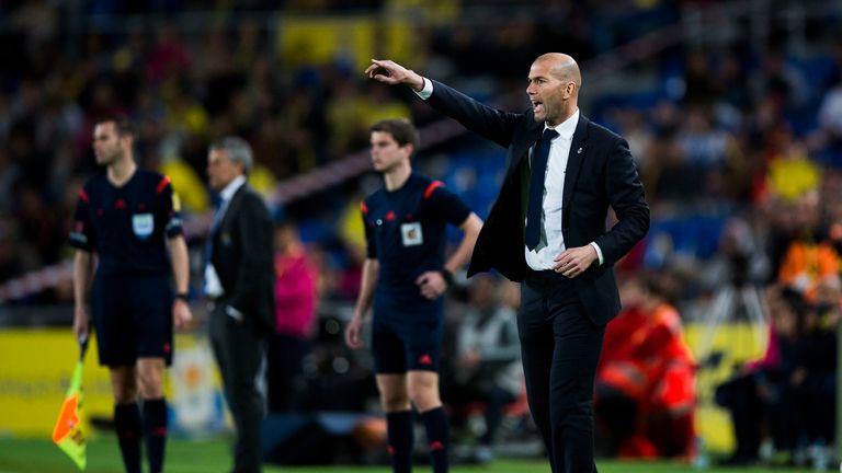 Ozil admits he is a fan of Real Madrid head coach Zinedine Zidane