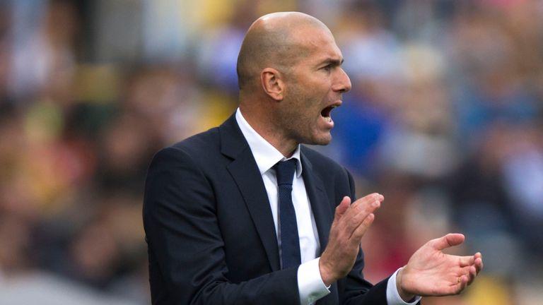 Zinedine Zidane is optimistic for the rest of the La Liga season