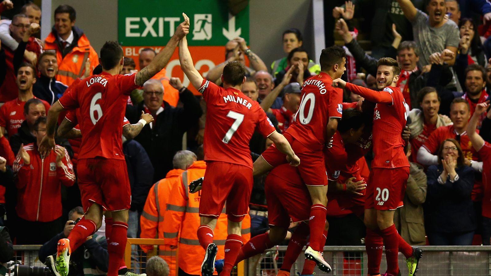 Liverpool 4 - 0 Everton - Match Report & Highlights