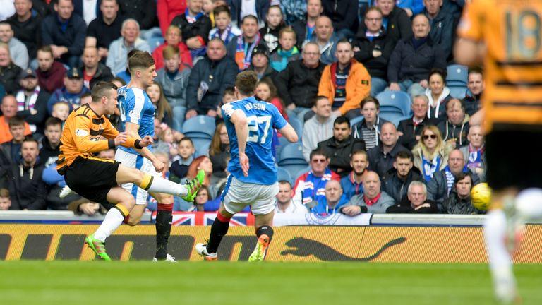 Michael Duffy earns Alloa a point at Ibrox despite Rangers' domination