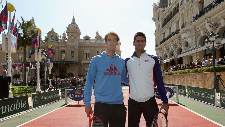 Andy Murray and Novak Djokovic could meet again in Monte Carlo
