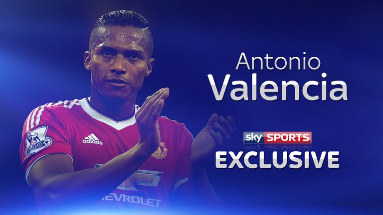 Antonio Valencia is targeting the top four