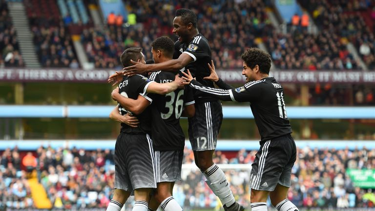 Chelsea are unbeaten in their last 15 Premier League game and thrashed Aston Villa last weekend