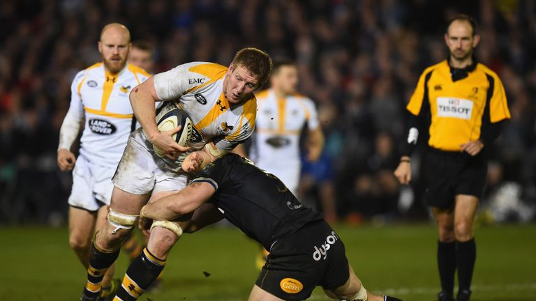 Davies is expected to feature in the Aviva Premiership play-offs