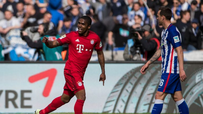 Douglas Costa will play for Brazil at the Rio Olympics