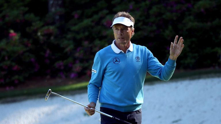 Langer held off Durant and Jimenez to win third straight Senior Players title