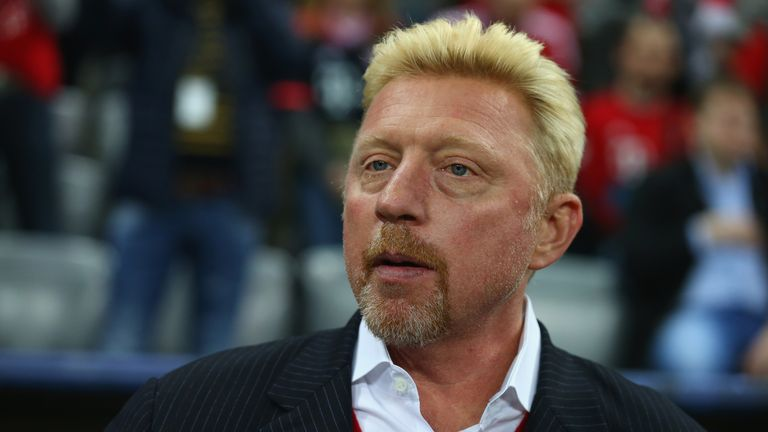 Boris Becker believes the Australian Open is now up for grabs following Murray's exit