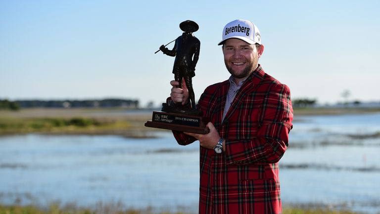 Grace won the RBC Heritage title earlier this year