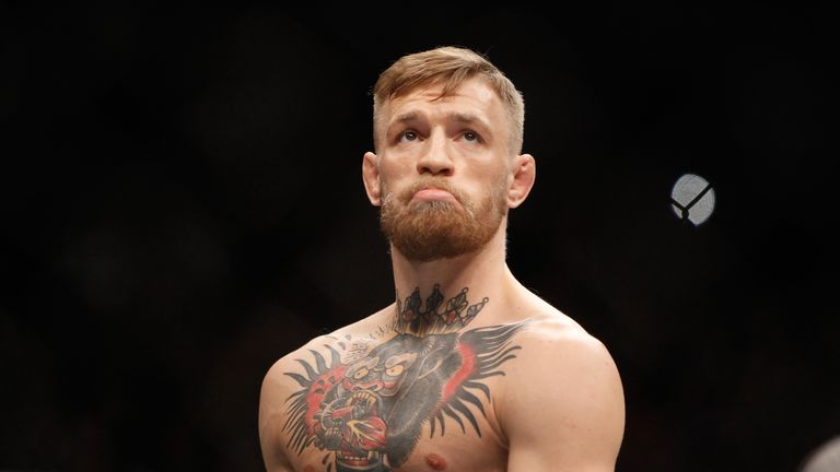 Conor McGregor says he was honoured to fight under the Fertitta regime