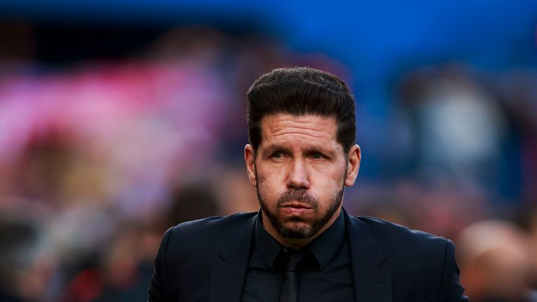 Diego Simeone has vowed to stay on at Atletico Madrid