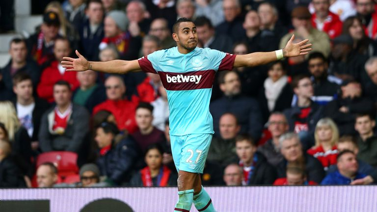 Dimitri Payet is expected to start for West Ham this weekend
