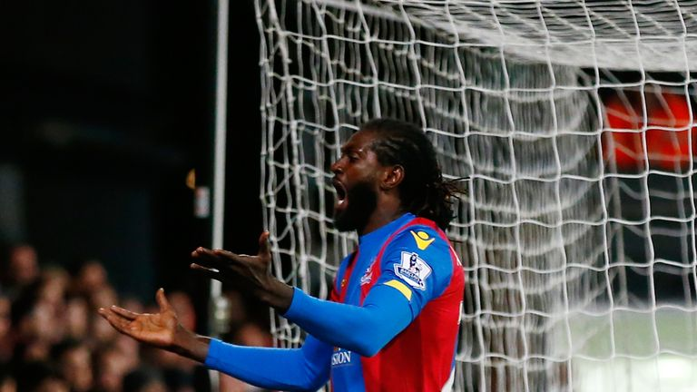 Adebayor said he always played for teams fighting for the title