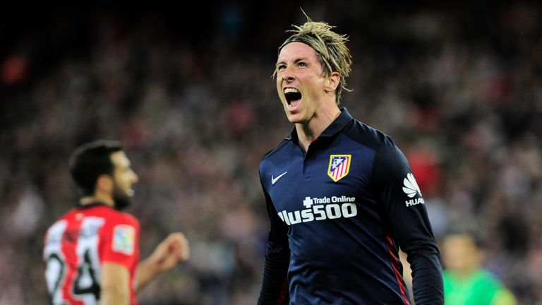 Fernando Torres has been in excellent form for Atletico Madrid in recent weeks