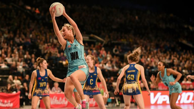 Surrey Storm's Georgia Lees is one of the exciting young talents in the Superleague