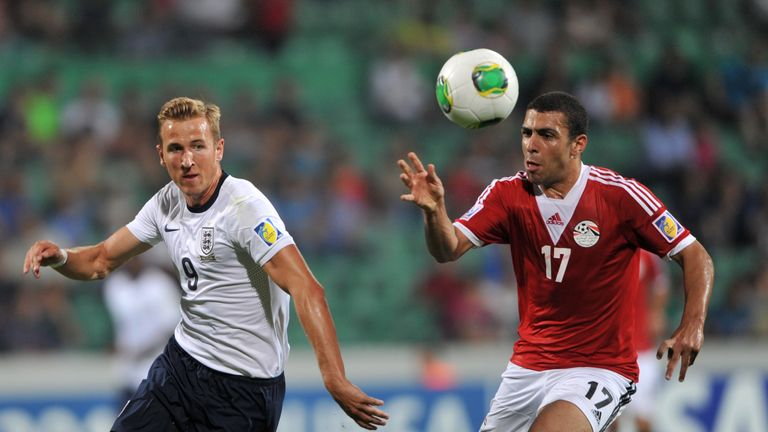 Kane in action against Egypt during the U20 World Cup in 2013