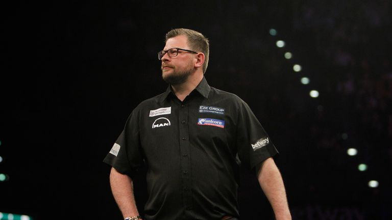 James Wade had to settle for runner-up prize