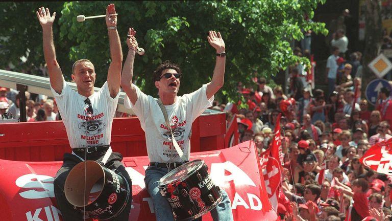 Kaiserslautern shocked German football by winning the Bundesliga