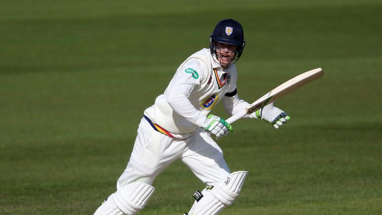 Durham's Keaton Jennings scored two hundreds in two days against Somerset