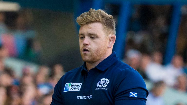 Kevin Bryce  made his Scotland debut in 2014