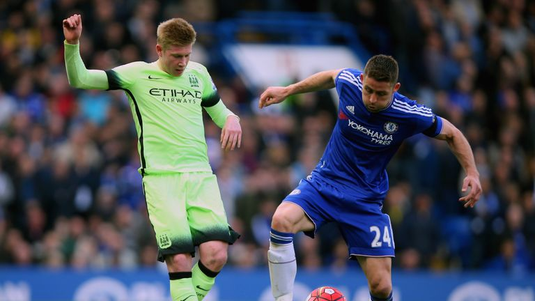 Gary Cahill (right) wants Chelsea to stand up and be counted in remaining five games this season