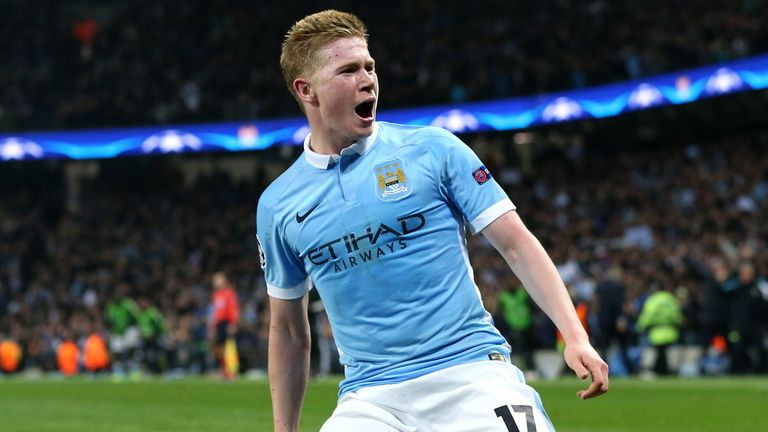 Manchester City paid £54.5m for Kevin De Bruyne in the 2015 summer transfer window