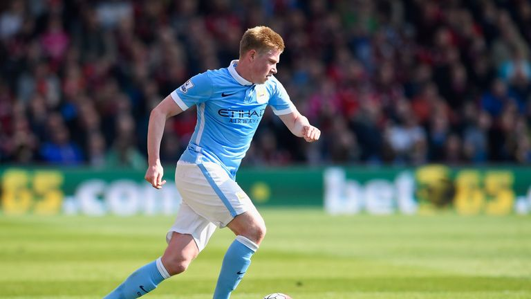Kevin De Bruyne struggled with injury at times last season, but featured for Belgium at Euro 2016