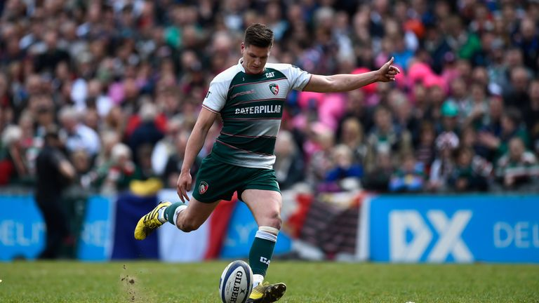 Freddie Burns slots a penalty for the Tigers