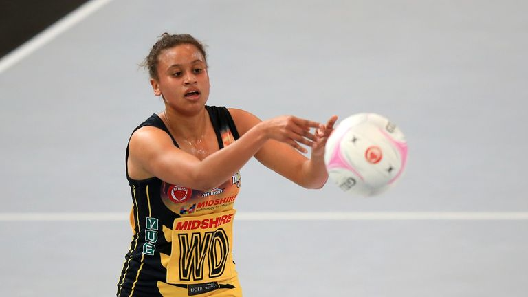 Laura Malcolm has joined from Manchester Thunder